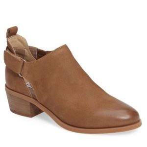 Steve Madden Korbyn Tan Leather Ankle Booties 6